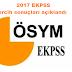 2017 EKPSS tercih sonuçları açıklandı