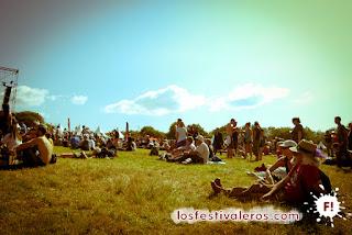 Los viejos rockeros, ya se sabe: el Bout du Monde es un festival en el que caben todas las edades.