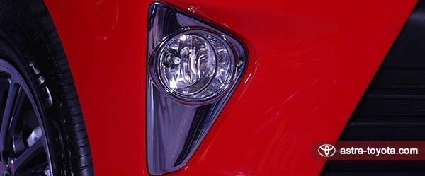 Desain Foglam Toyota All New Calya Tipe G