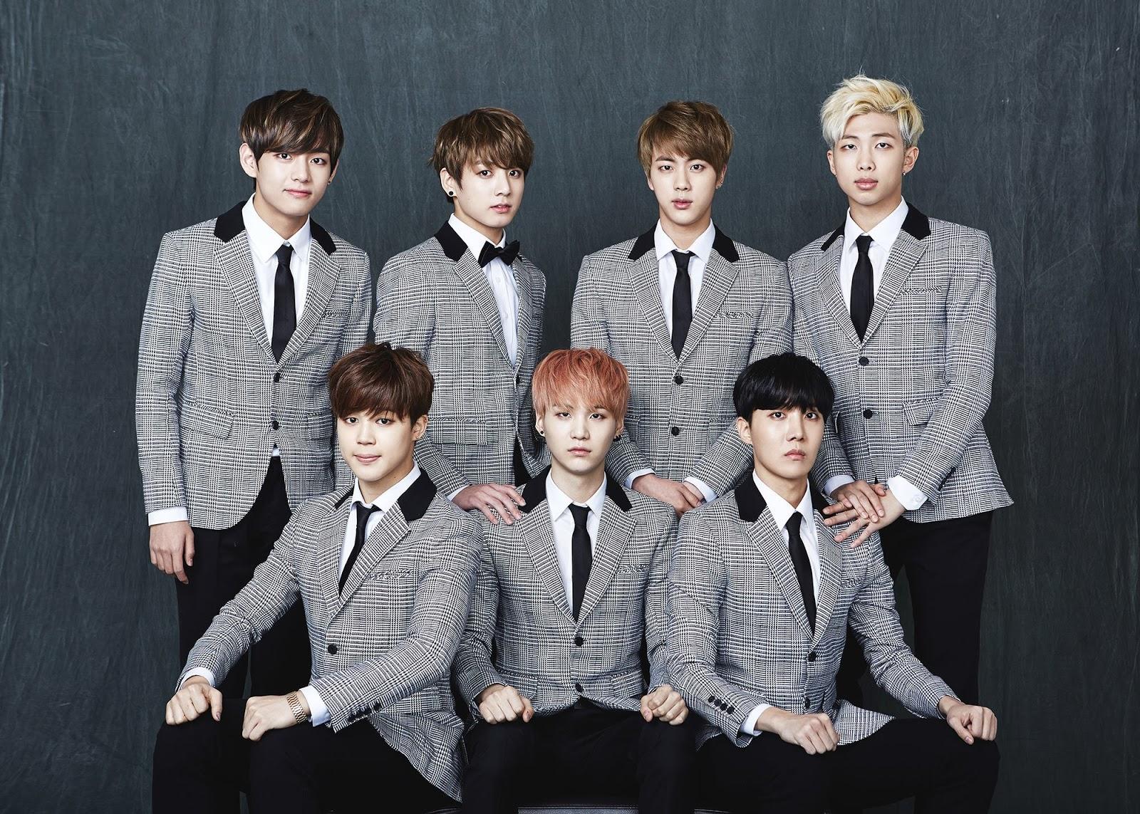 PROFIL DAN FAKTA MEMBER BTS BANGTAN BOYS mari berbagi info