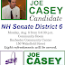 Meet & Greet For @JoeCaseyNH Monday, Augusr 8th 5-6:30 Rochester