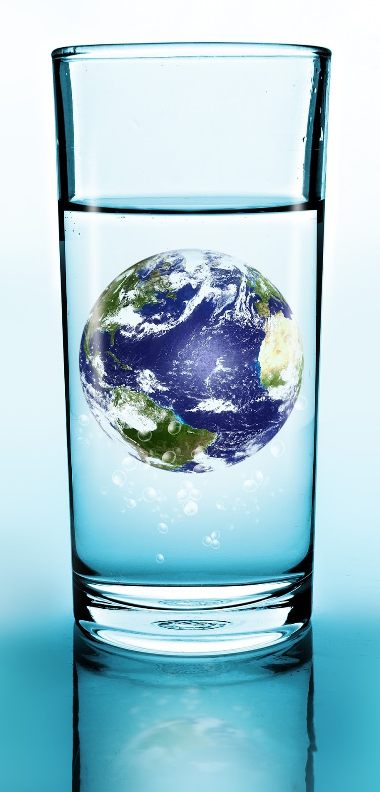 Earth water.