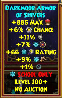 Best Ice Gear (Level 120+) | Wizard101