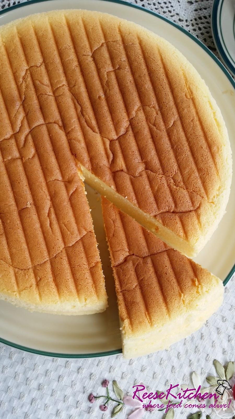 Reesekitchen Cotton Cheese Cake