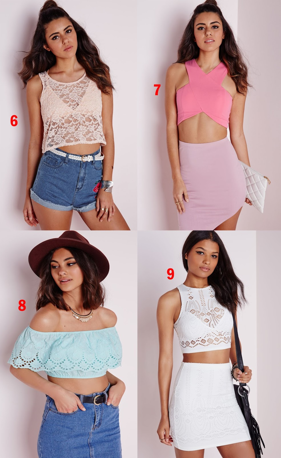 Tashika Bailey | Crop Tops and Bralets for Summer