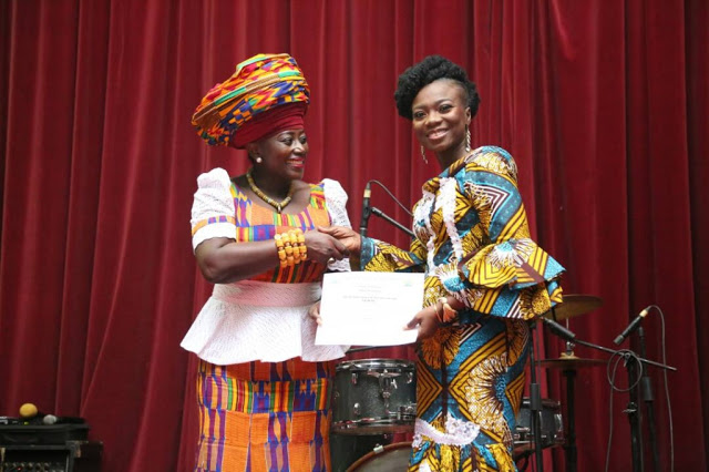 Ghana Peace Awards & RTP Awards : Stacy Amoateng Sweeps Two Big Awards On Saturday