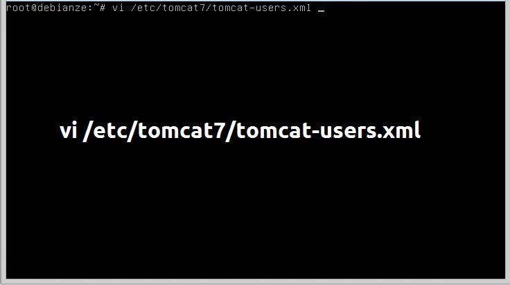 adicionando e configurando usuários no apache tomcat