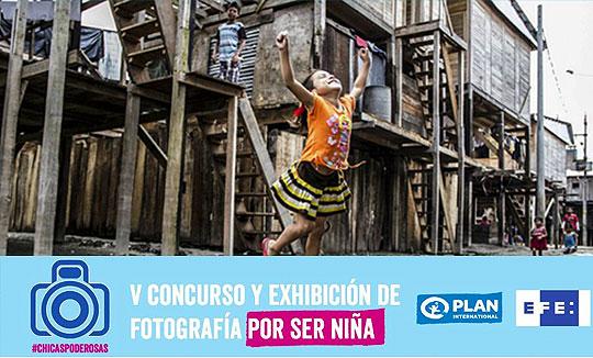 """V Concurso de fotografía y exhibición """"Por ser Niña"""""""