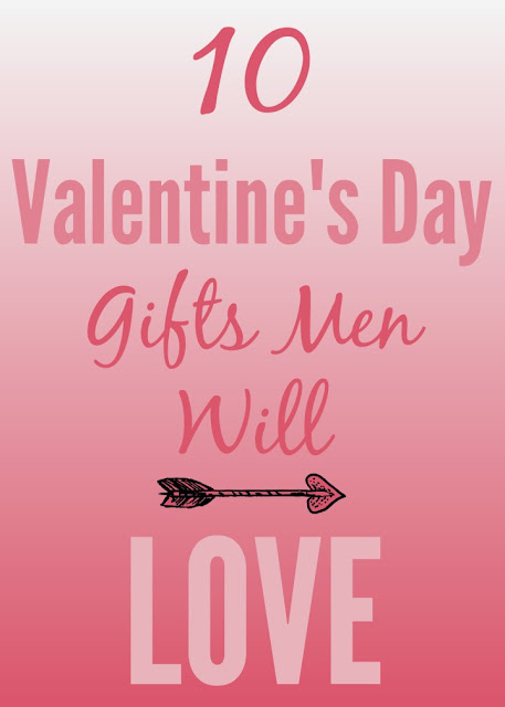 Find 10 Valentine's Day gift ideas for the hard to buy for man in your life! These suggestions will help you out! #affiliate