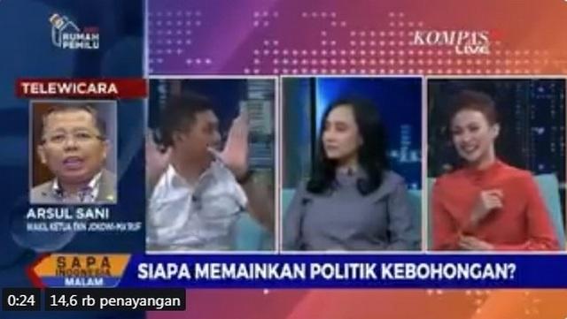 Nampol Banget! Jansen: Mulailah Politik Kejujuran dari Pak Jokowi Sendiri