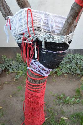 arte contemporaneo- arte textil-intervencion artistica