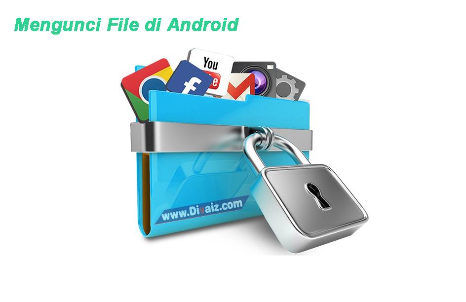 Cara Mengunci dan Memberi Password Galeri Foto, video di Android