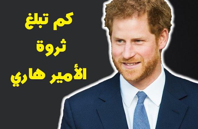 كم تبلغ ثروة الأمير هاري