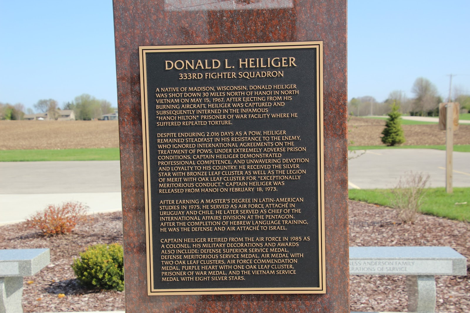 Wisconsin Historical Markers: Stoughton Area Veterans
