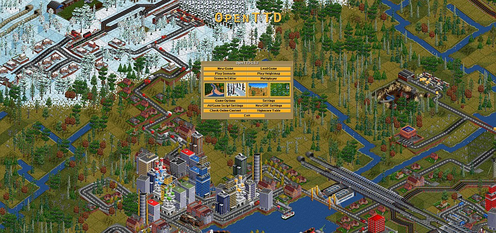 Indie Retro News: OpenTTD 1.5.2 - The latest Open Source Transport Tycoon Deluxe release