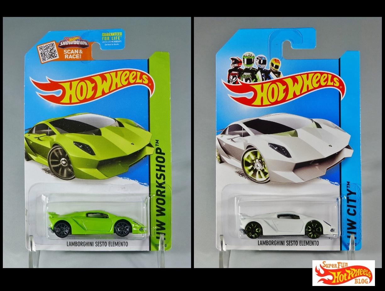 Super Fun Hot Wheels Blog Hw Lamborghini Sesto Elemento