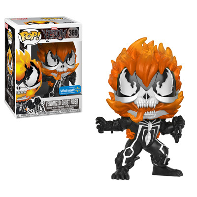venom Ghost Rider's head