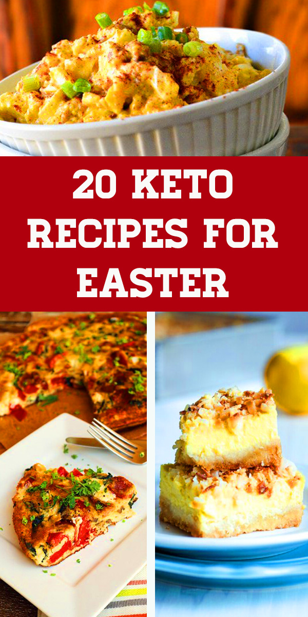 20 Keto Recipes For Easter - Keto - Low Carb - Healthy Recipes.  Keto instant pot recipes, Keto dessert recipes, Keto bread recipes, Keto dinner recipes #easter #dinner #easterrecipes #keto #ketorecipes #ketodiet #lchf #dessert #breakfast #brunch #appetizer #lunch #easterdinner #ketogenic #lowcarb #heathyrecipes