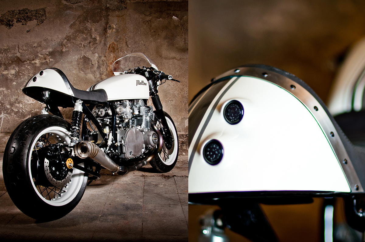 built for speed - suzuki gs1000 cafe racer ~ return of the cafe racers