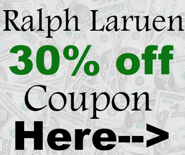 Ralph Lauren Promo Codes 2021-2021, Ralph Lauren Coupon Code 20% September, October, November