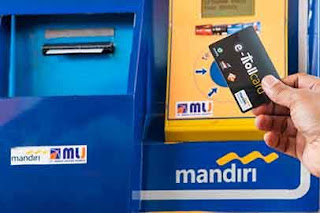 Tempat Pembelian e-Toll Card Bank Mandiri