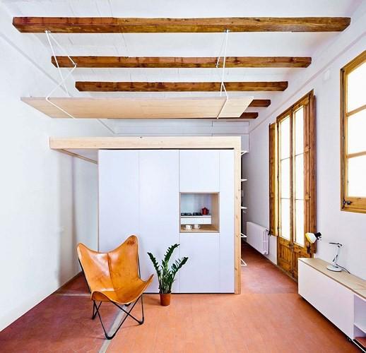 Không gian nội thất căn hộ 70m2 - Ảnh 4