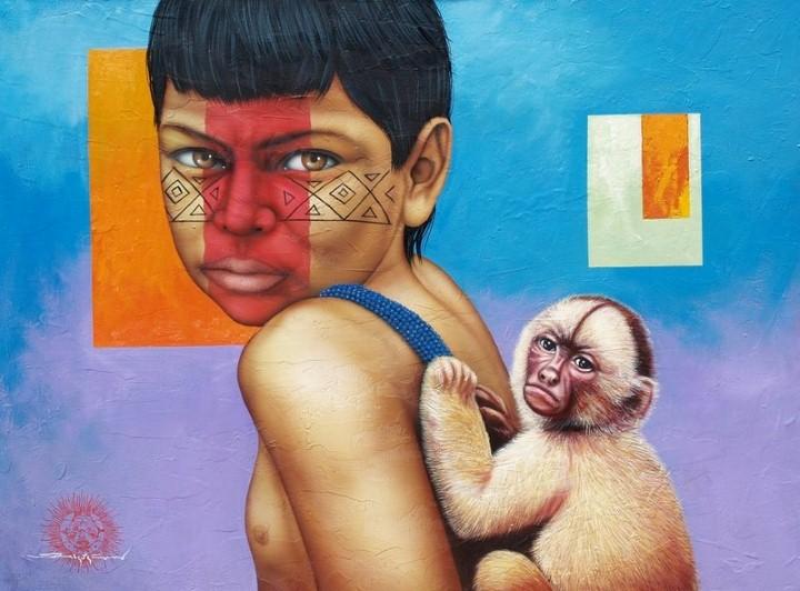 Victor Crisostomo. Современный южноамериканский художник 11
