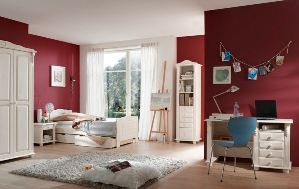 elegant colors for youth room ideas