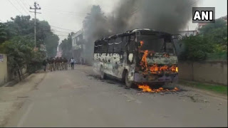 violance-in-allahabad-after-dalit-student-murder