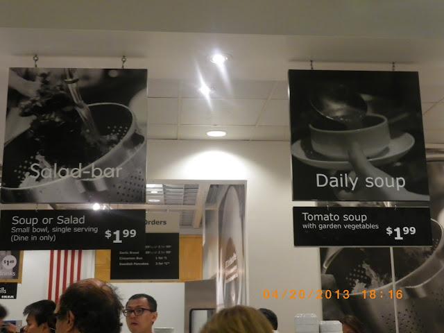 Vc menu ikea restaurant burbank for Ikea burbank california