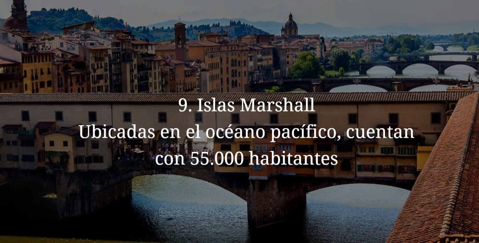 Islas Marshall, paises mas pequeños y menos habitados del mundo