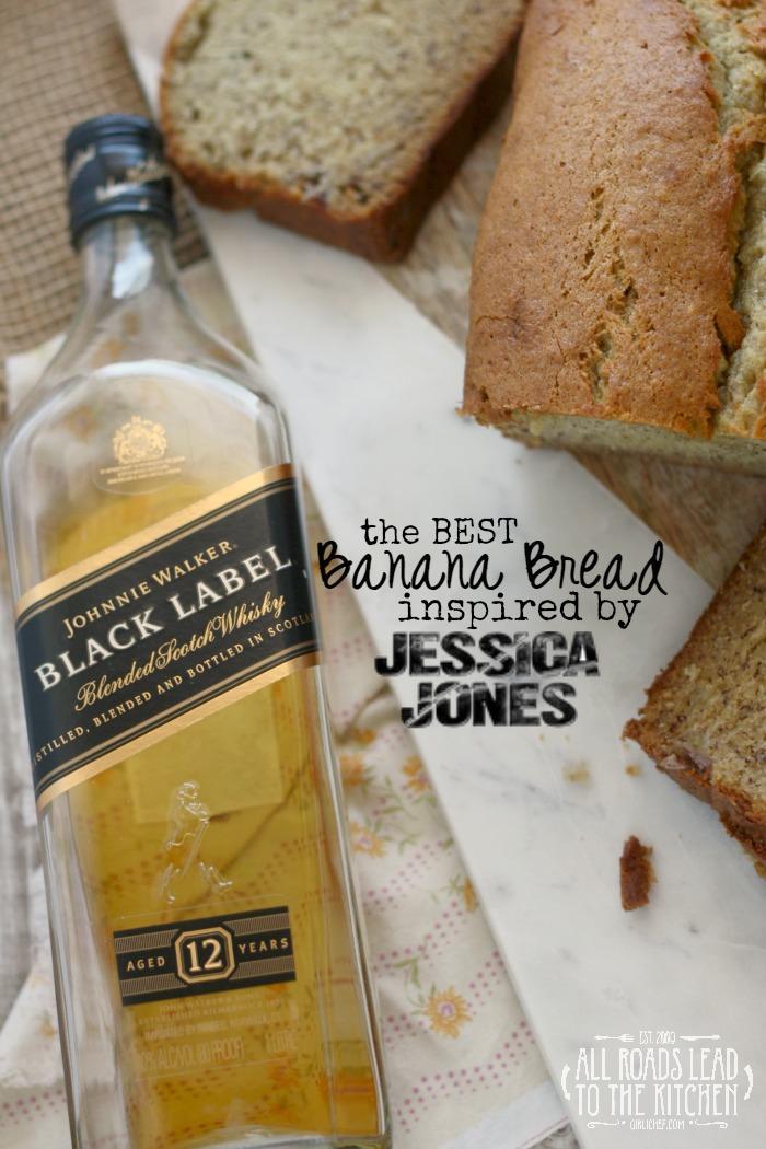 The Best Banana Bread inspired by Jessica Jones