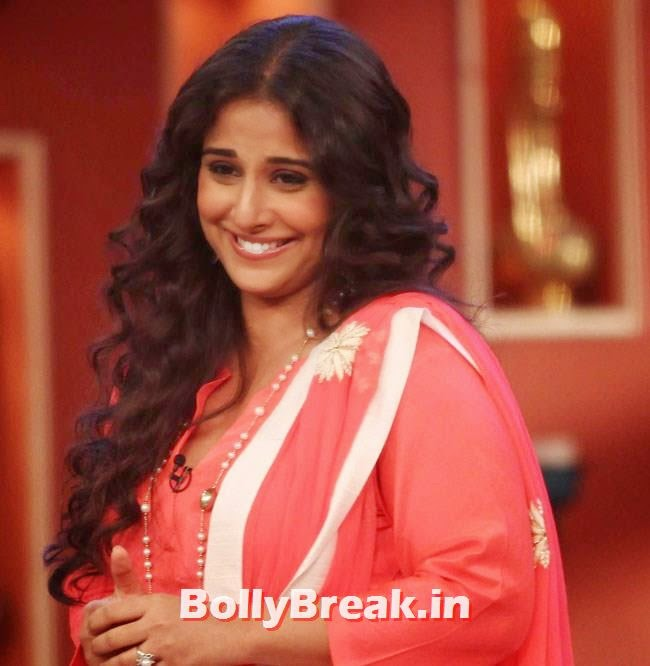 Promotion of film 'Bobby Jasoos' on the sets of Comedy Nights with Kapil, Vidya Balan, Dia Mirza Pics from Comedy Nights With Kapil