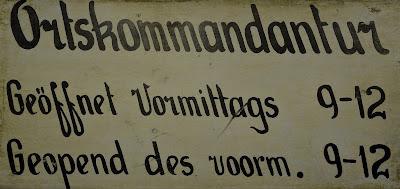 ortskommandant openingstijden streekmuseum