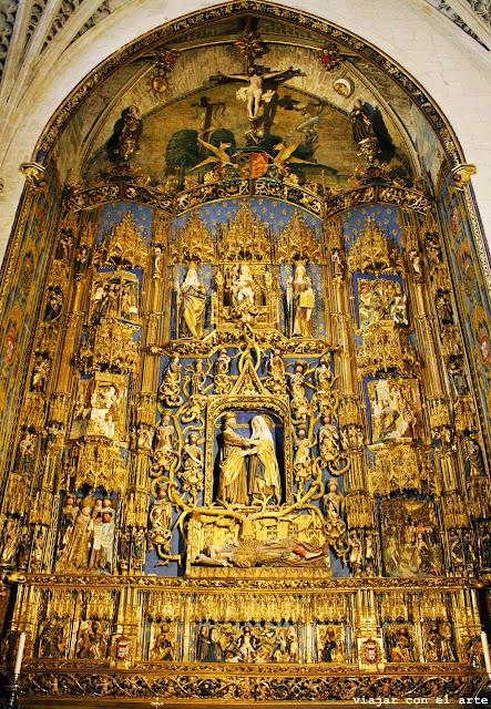 Árbol de Jesé catedral de Burgos