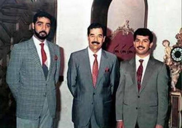 سيارات الرئيس صدام حسين وأولاده قصي وعدي  أنواع  لا تصدق !!