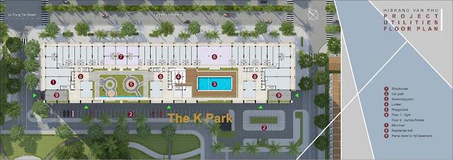 Tiện Ích The K Park