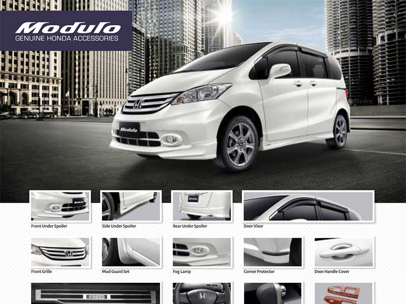 Aksesoris Honda Freed
