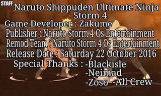 Download Naruto Senki Mod Os Storm 4 by Feri Apk