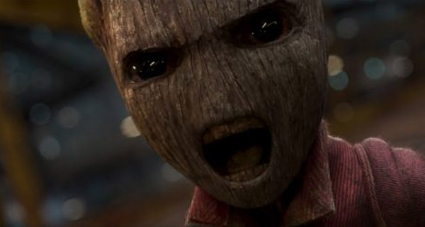 Baby Groot en Guardians of the Galaxy