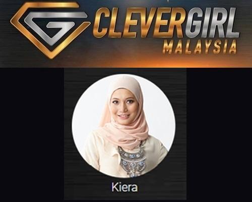 Biodata Kiera Clever Girl Malaysia 2017, profile Kiera, biografi, profil dan latar belakang Kiera Clever Girl Malaysia TV3 2017 musim 2, foto, gambar Kiera Clever Girl Malaysia musim kedua