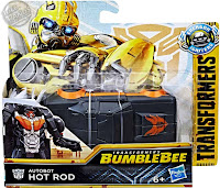 Hasbro Transformers Bumblebee Movie Power Series Hot Rod 001
