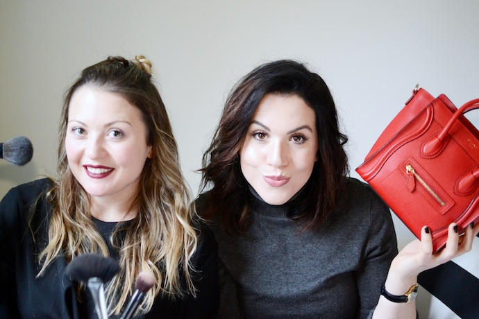 Aleesha Harris and Kirsten Covet and Acquire editor Vancouver fashion blog