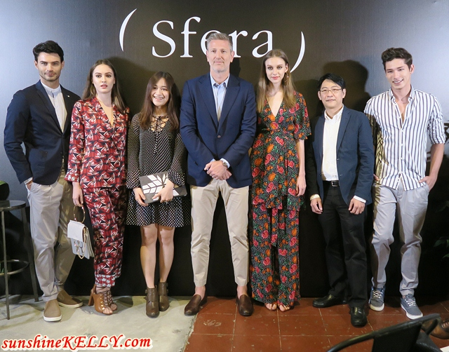 Sfera Arrives in Parkson Malaysia