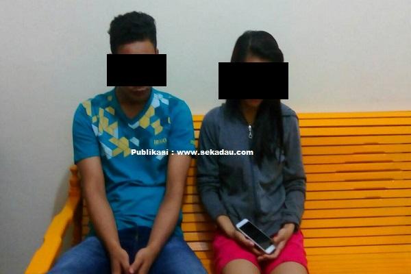 Dua Pasangan Mesum Diangkut Petugas