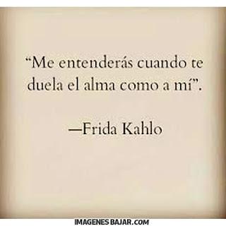 Imagenes Desamor Amor Triste dolor en el alma frida kahlo