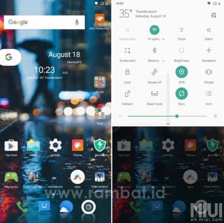 Tema Xiaomi Terbaru Untuk Hape Mi Ada Tema Anime, Bergerak