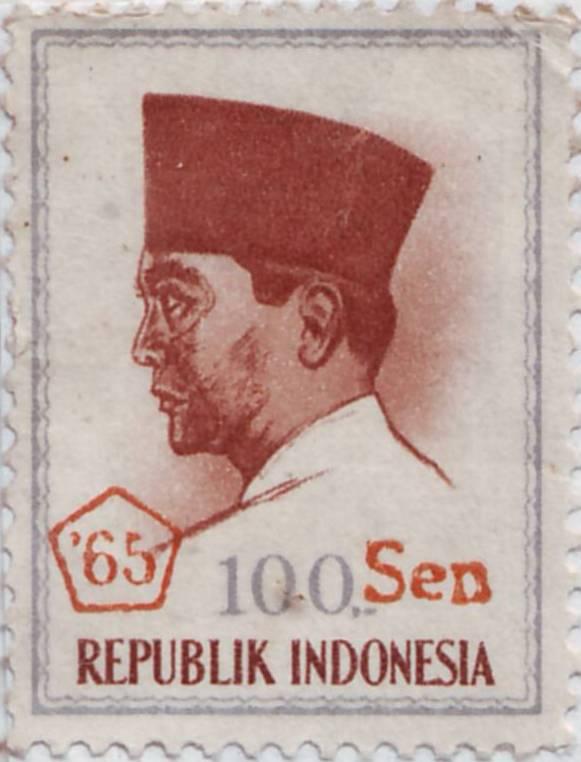 Indonesia Stamp Antique Collection Perangko Soekarno Collection