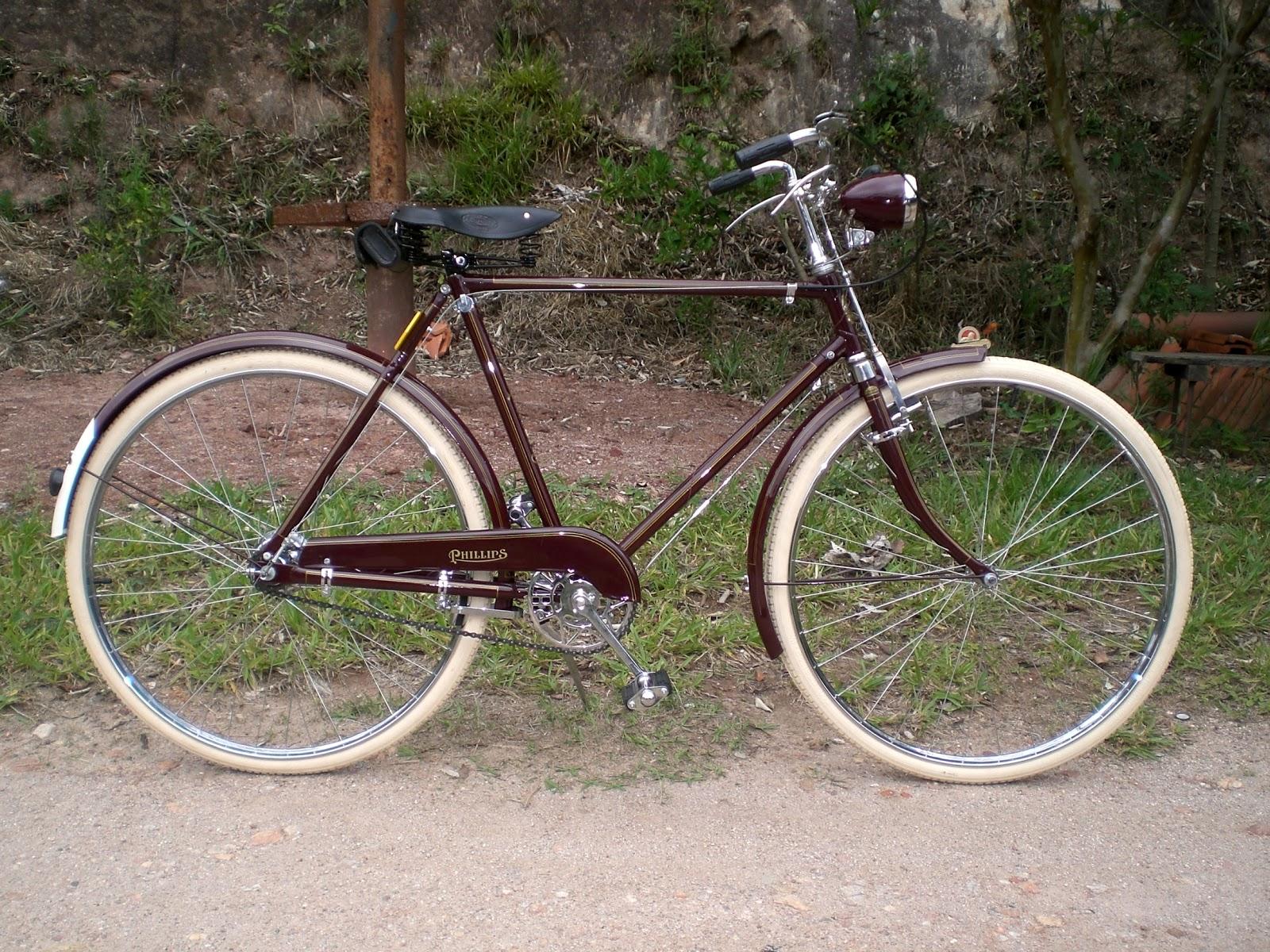 Ni Bicicleta Ni Bicicleto: Bicicletas Antigas: PHILLIPS MASCULINA 1950