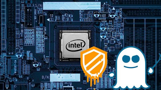 celah keamanan prosesor intel meltdown